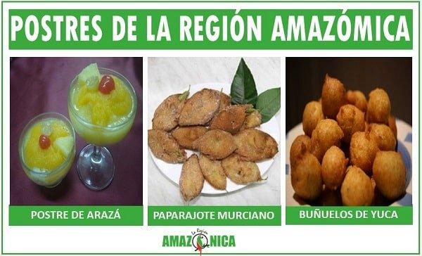 postres tipicos de la region amazonica