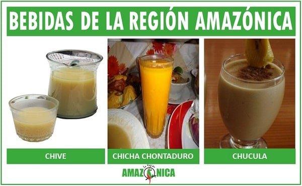 bebidas tipicas de la region amazonica