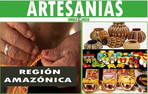 Artesanias tipicas de la region amazonica