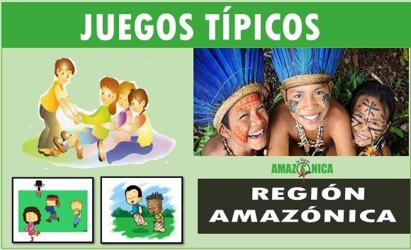 Juegos tradicionales de region Amazonica