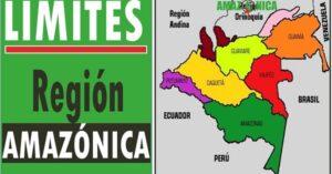 region amazonica limites