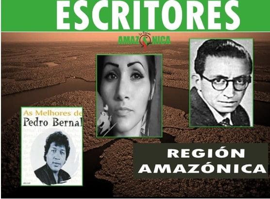Escritores mas destacados de la region Amazonica