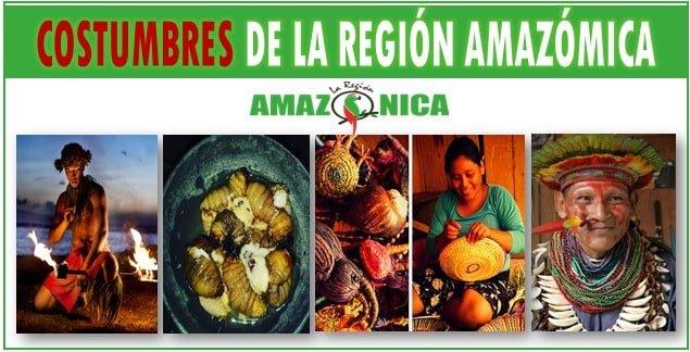 Costumbres de la region amazonica colombiana