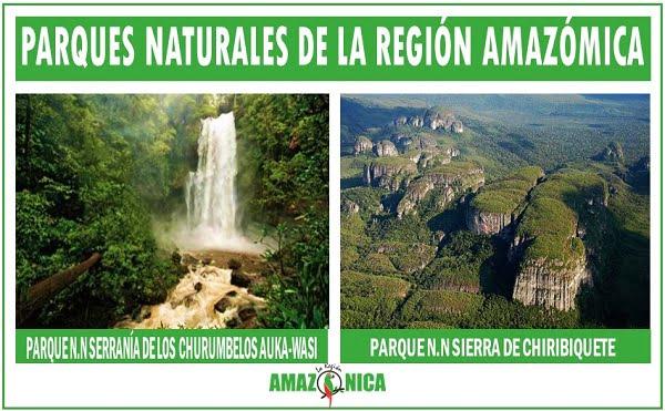 parques naturales de la amazonia